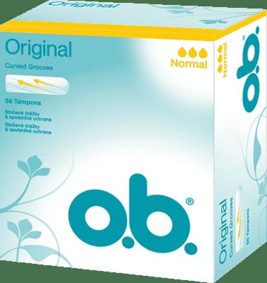 O.B. Tampóny Normal (56 ks)