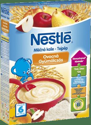 NESTLÉ ovocná (250 g) -mléčná kaše