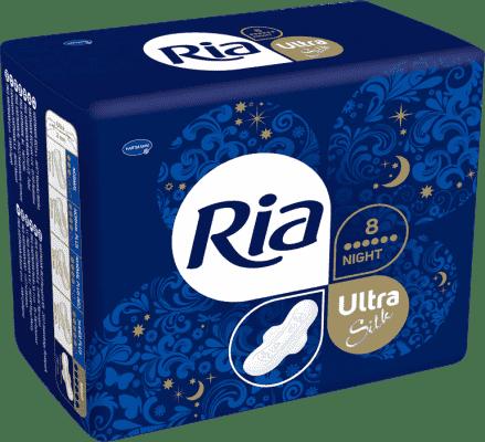 Ria Ultra Silk Night (8 ks)