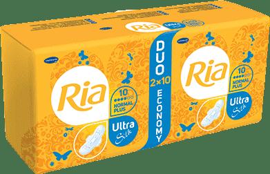 Ria Ultra Silk Normal Plus Duopack (2 x 10 ks)