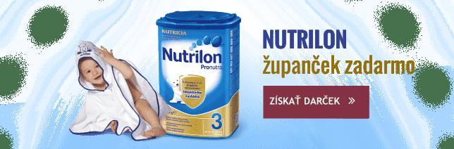 K výrobkom značky Nutrilon nad 79 Euro osuška ako darček.