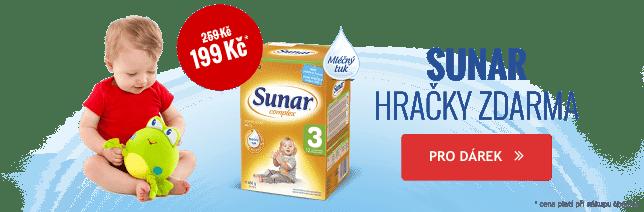 Při nákupu Sunar, Sunarka, Sunárek nad 2199 Kč získáte plyšovou hračku jako dárek.