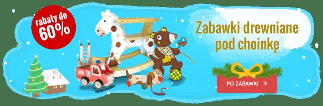Zabawki drewniane Boże Narodzenie